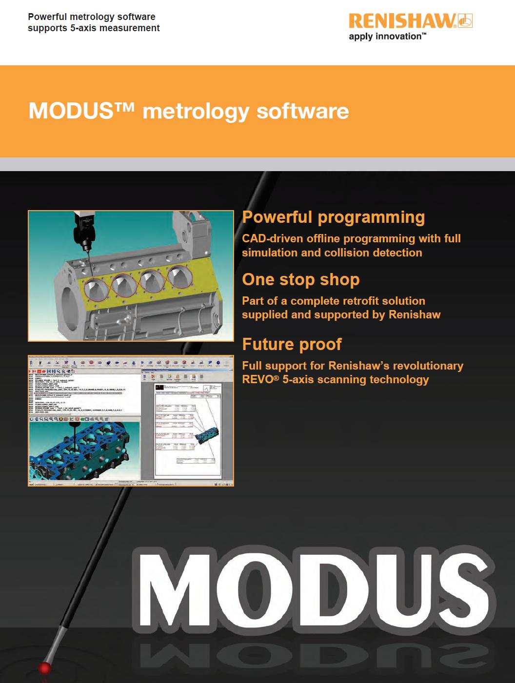 MODUS™ CNC/DCC Measuring Software – CMM Technology