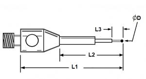 A Mini Step Styli Carbide